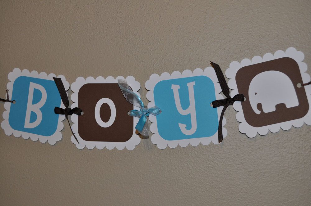 12 Boys Baby Shower Cupcake Toppers – It's a Boy ...