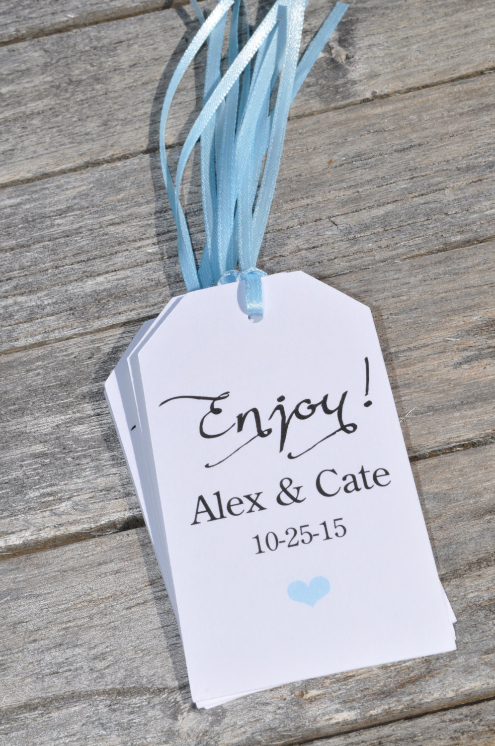 Baby Shower Favor Tags Enjoy Wedding Thank You Tags Favor Tag