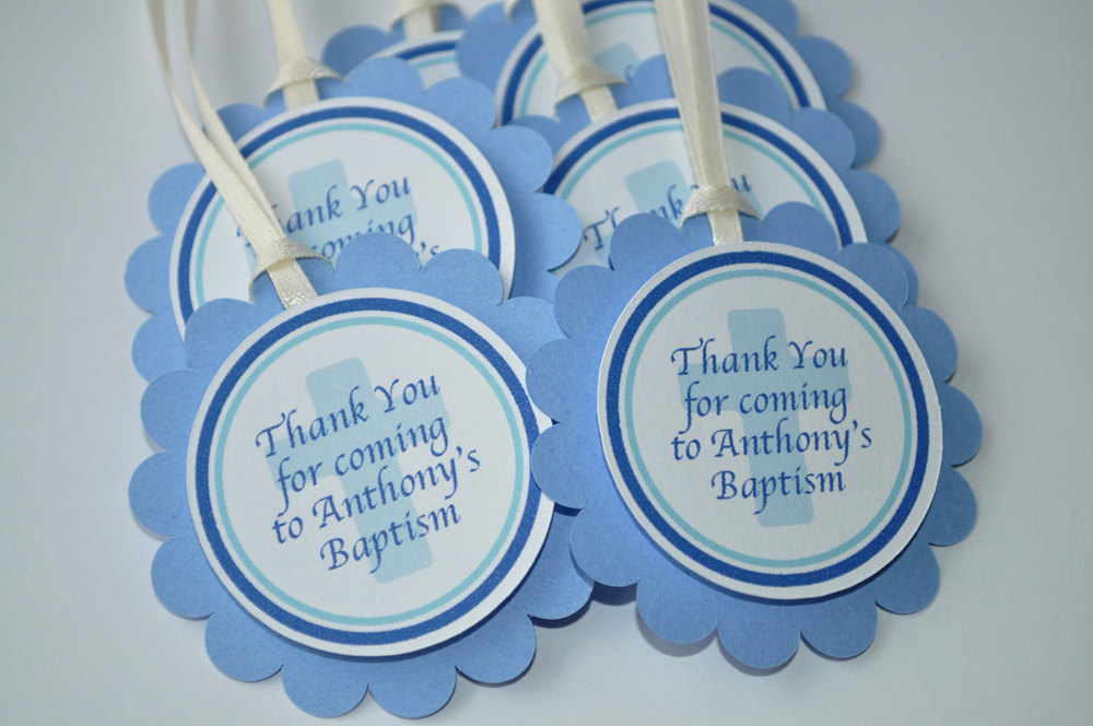 Baptism Cupcake Toppers Boys Baptism First Holy Communion Cupcake
