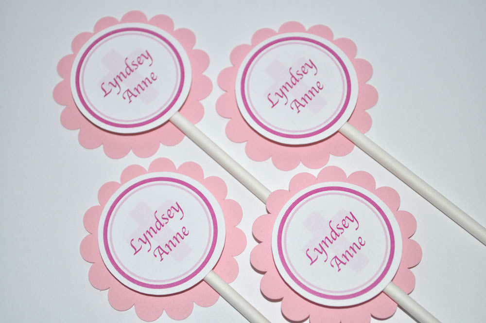 Baptism Sign Girl First Communion Party Decorations Welcome Door