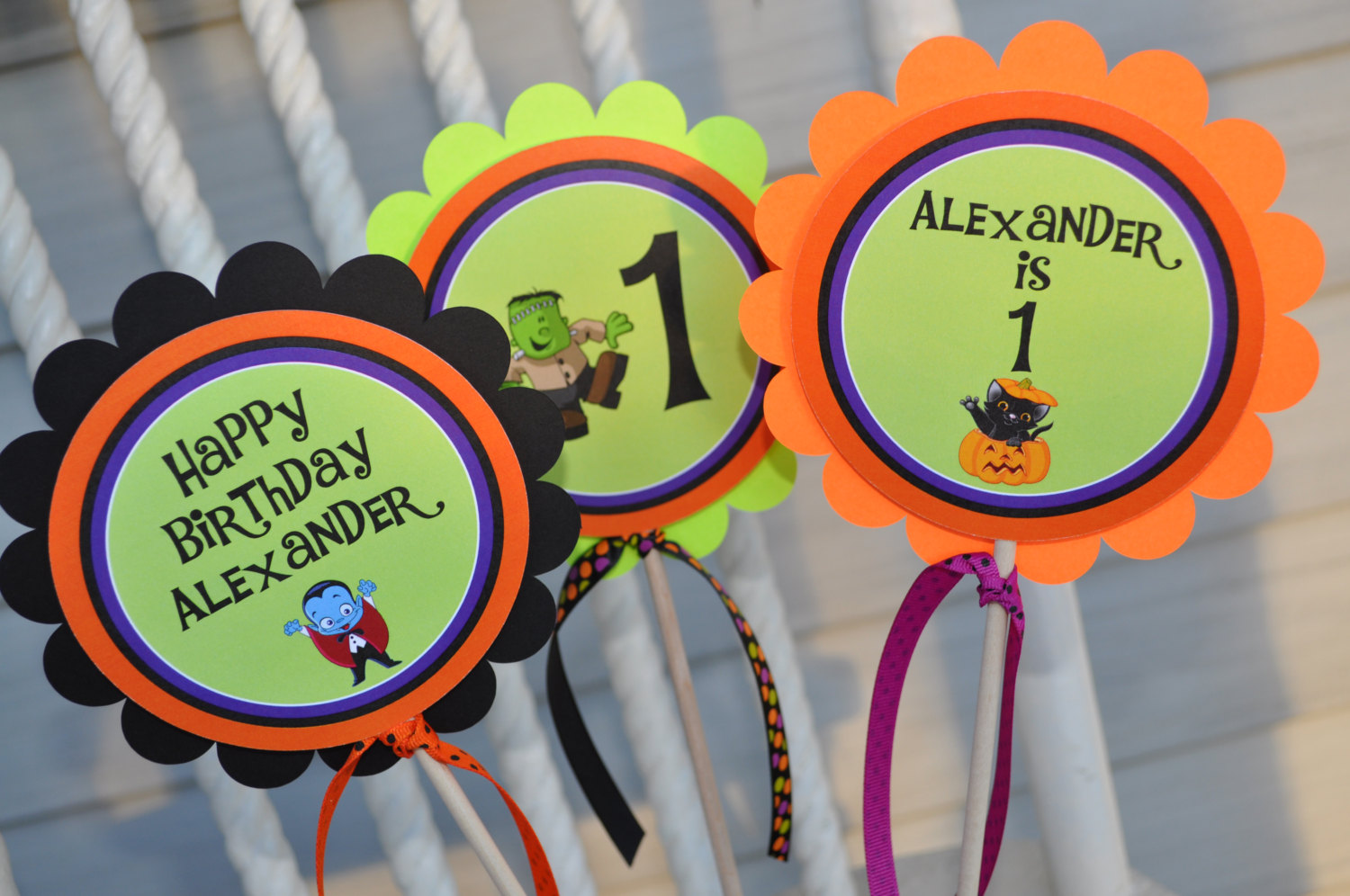 halloween birthday favor tags – halloween birthday decorations