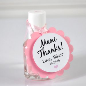 photograph about Mani Thanks Free Printable named mani because of favors Hence Cute Get together Retail outlet