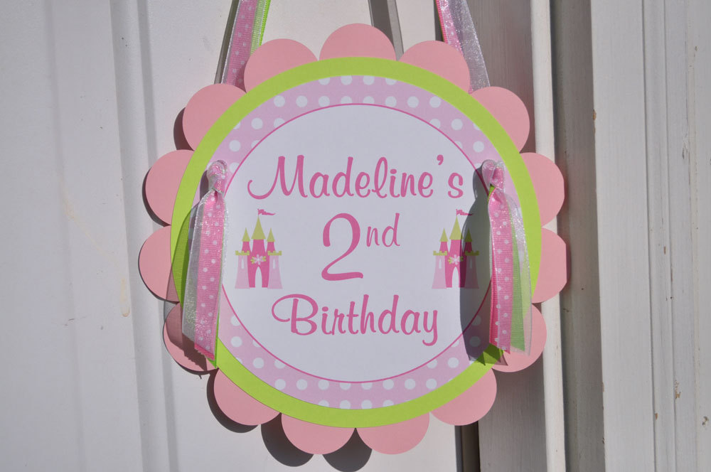 Princess Cupcake Toppers Birthday Party Decorations Girls 1st