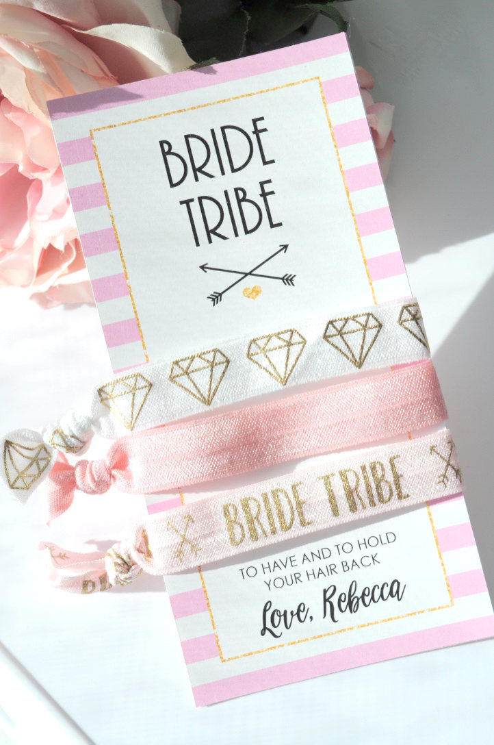 Bride Tribe Hair Tie Bachelorette Hairties To Have And