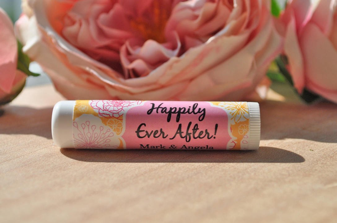Lip Balm Wedding Favor Labels Wedding Favors Bridal Shower Favors