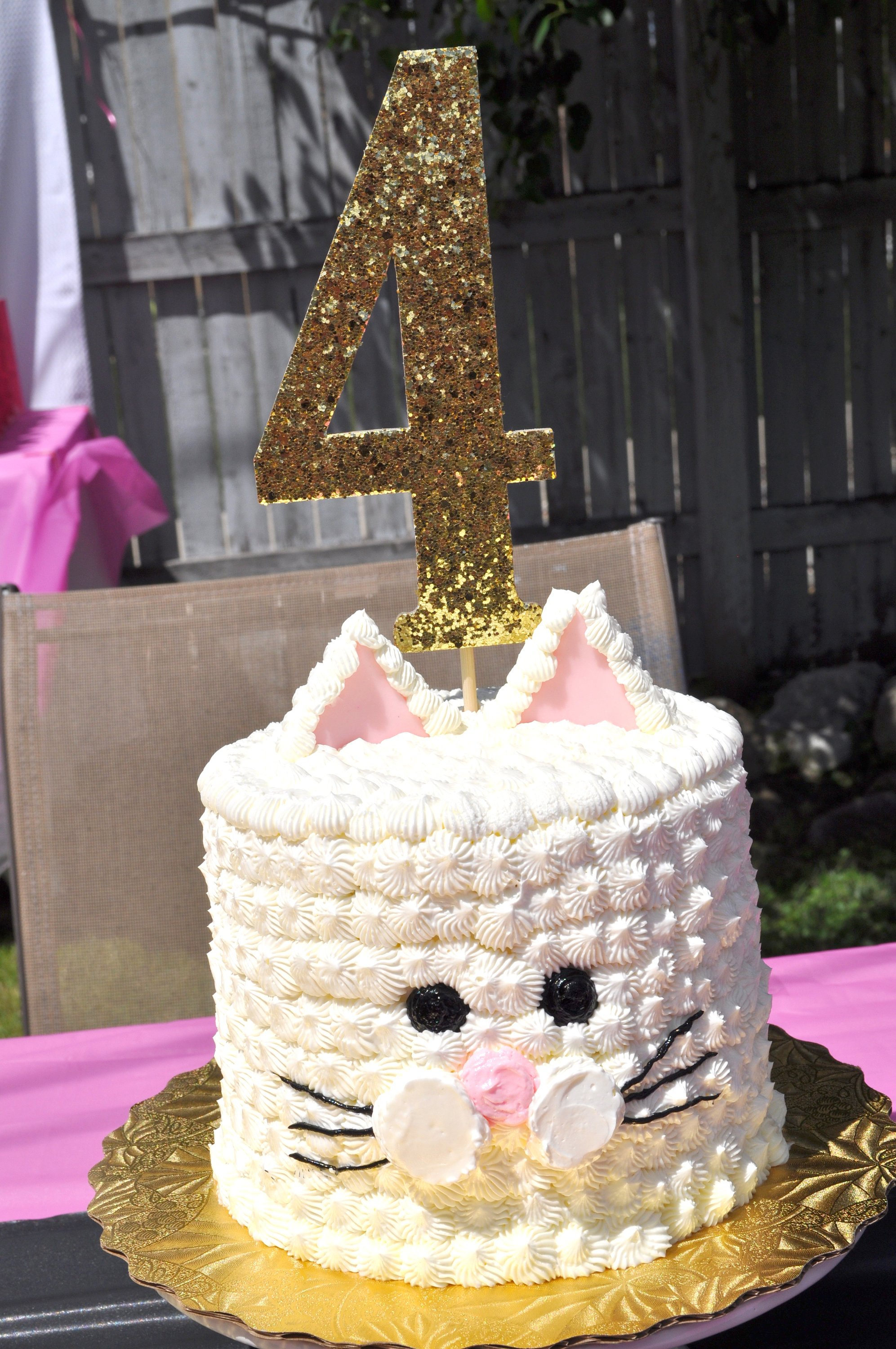 Candy Buffet Labels Kitty Cat Birthday